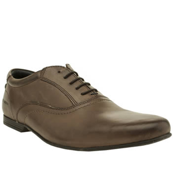 Mens Base London Brown Galaxy Oxford Shoes