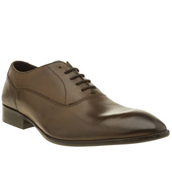 BASE LONDON DARK BROWN HOLMES SHOES