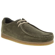 Base London Dark Green Genesis Mens Shoes