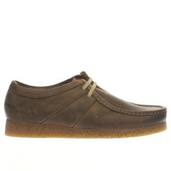 Mens Base London Brown Legacy Shoes