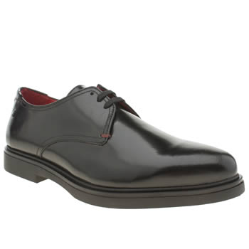 Base London Black Spy 2 Tie Gibson Shoes