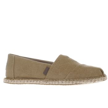 Toms Tan Seasonal Classic Mens Shoes