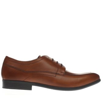 Base London Tan Base Idol Tramline Shoes
