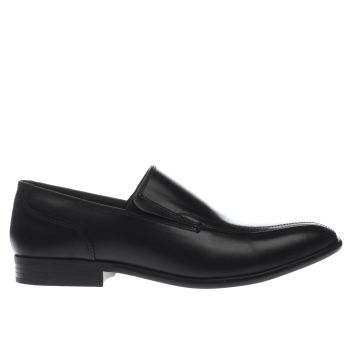 Base London Black Idol Tram Slip Mens Shoes