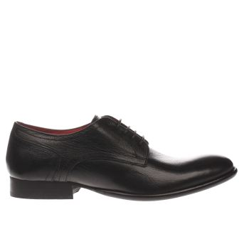 Base London Black Fashionista Gibson Mens Shoes