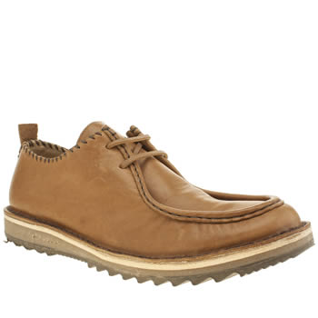 Northern Cobbler Tan Gulper Shoes