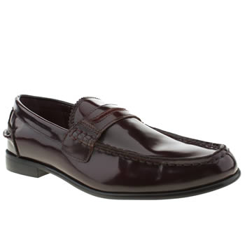 mens momentum burgundy esquire penny loafer shoes