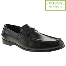 Black Momentum Esquire Penny Loafer