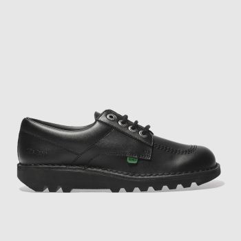 Kickers Black Kick Lo Shoes