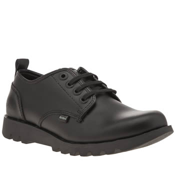 Kickers Black Losuma Shoes