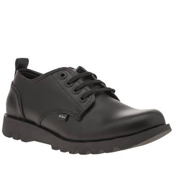 Kickers Black Losuma Shoes
