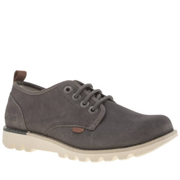 Kickers Grey Kick Losuma Shoes