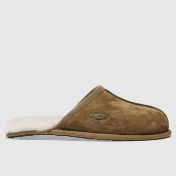 Mens Ugg Australia Tan Scuff House Slippers