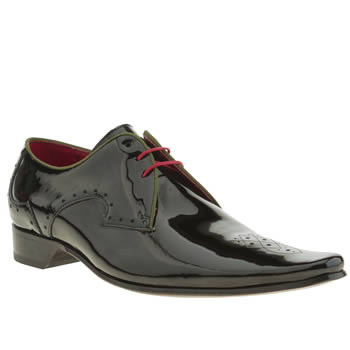 Mens Jeffery West Black Pino Traffic Light Shoes