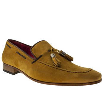 mens jeffery west tan jung tassel loafer shoes
