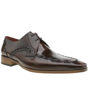 Jeffery West Brown Escobar Whip Mens Shoes