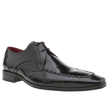 Jeffery West Black Escobar Whip Mens Shoes