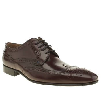 Paul Smith Shoe Ps Burgundy Aldrich Shoes