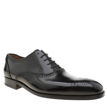 Paul Smith Shoe Ps Black Gilbert Mens Shoes
