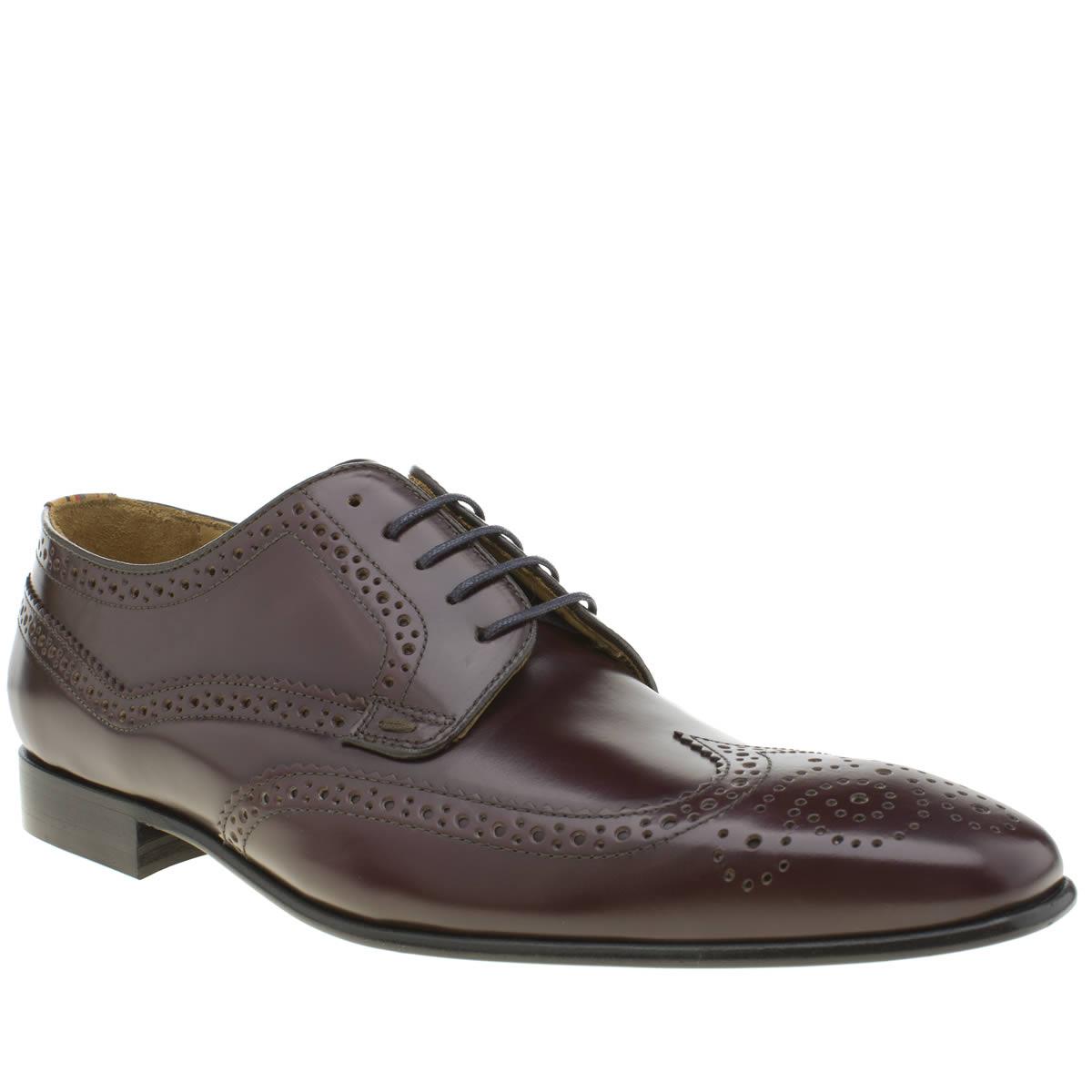 paul smith shoe ps Paul Smith Shoe Ps Burgundy Aldrich Shoes