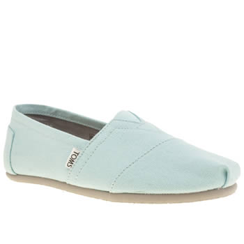 Mens Toms Pale Blue Seasonal Classic Shoes
