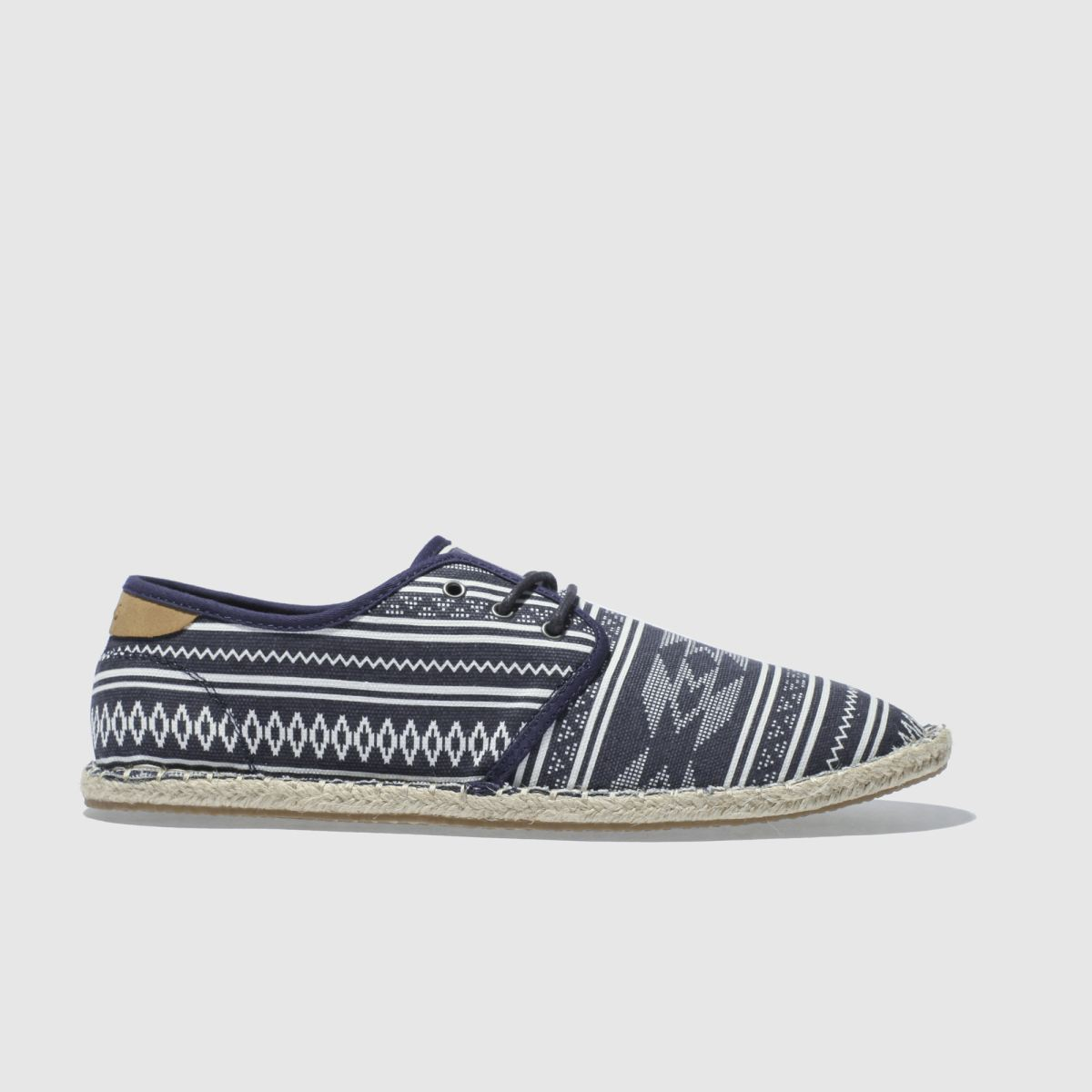 Toms Navy & White Diego Shoes