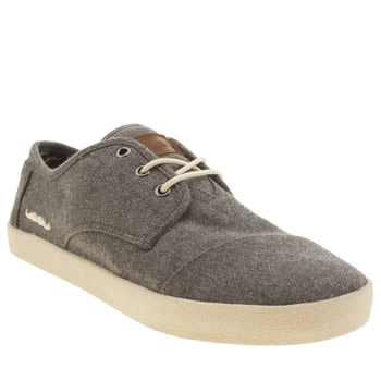 Mens Toms Grey Movember Paseo Shoes