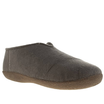 Mens Toms Grey Slipper Slippers