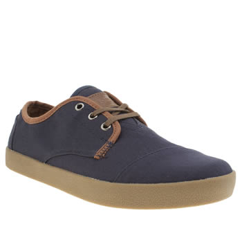 Toms Navy Paseos Shoes