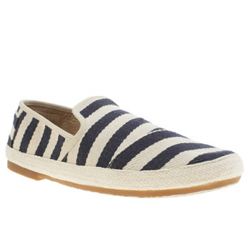 mens toms white & navy sabados shoes