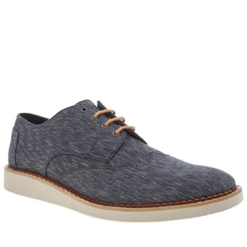 Toms Navy Brogues Mens Shoes