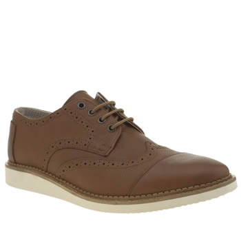 Toms Tan Brogues Shoes