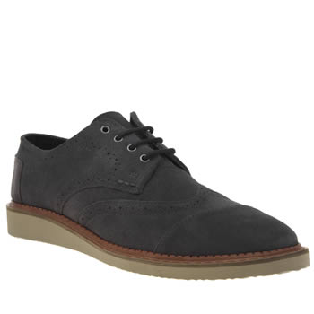 Toms Grey Brogues Mens Shoes