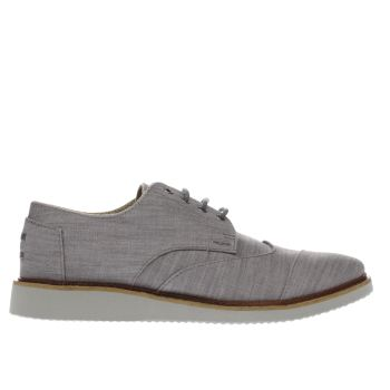 Toms Grey Brogues Shoes