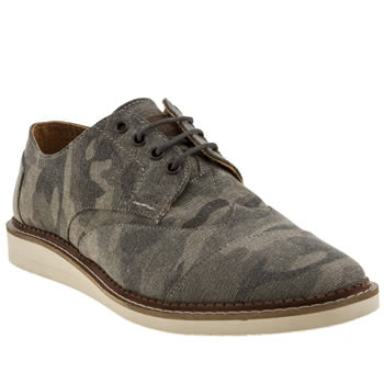Toms Khaki Brogue Shoes