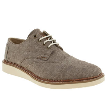 mens toms brown brogue shoes