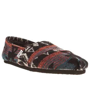 mens toms multi classic jacquard shoes