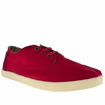 mens toms red paseos shoes