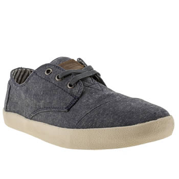 mens toms blue paseos shoes