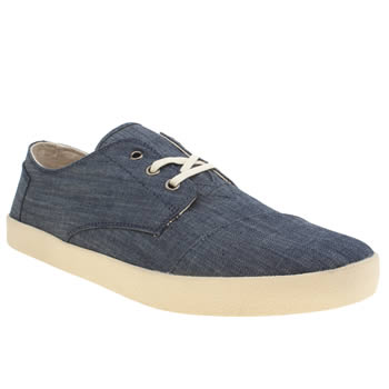 Mens Toms Pale Blue Paseos Shoes