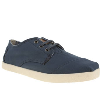 mens toms navy paseos shoes