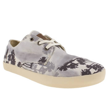 Mens Toms Navy & Grey Paseos Shoes