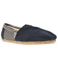 Navy & White Toms University Classics