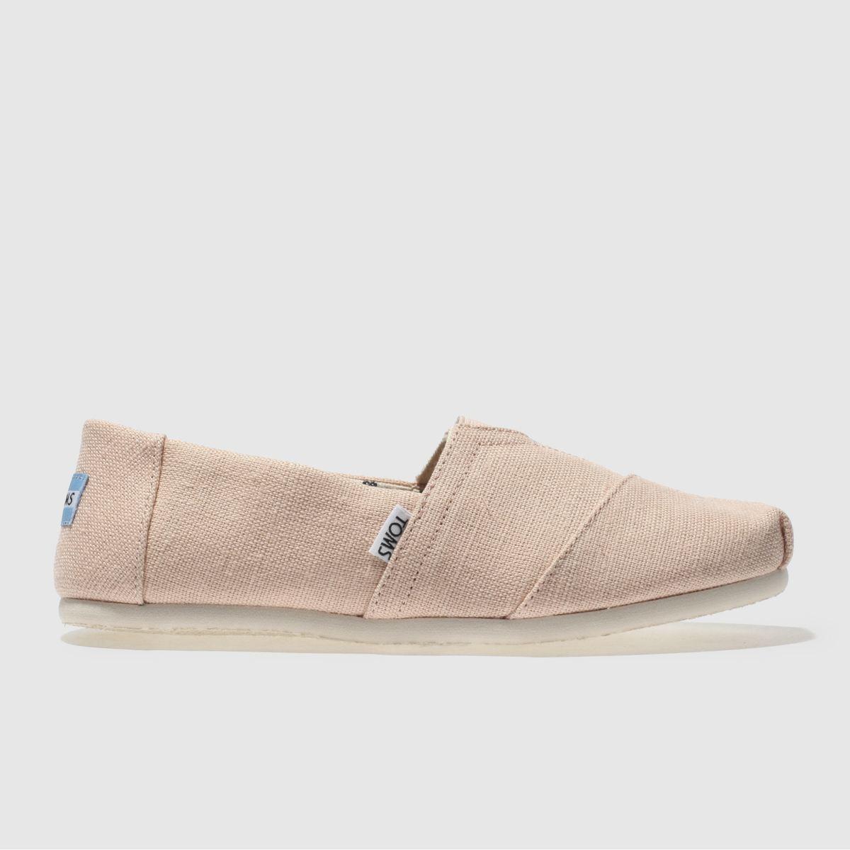 Toms Peach Classic Venice Shoes