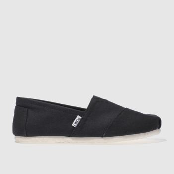 Mens Toms Black Classic Shoes