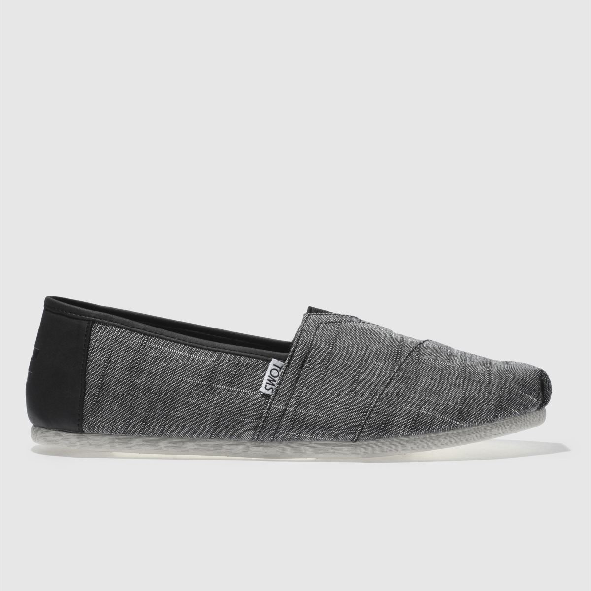 Toms Black & Grey Classic Shoes