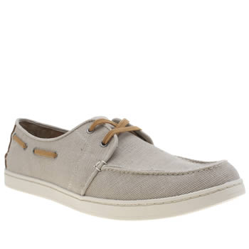 Toms Beige Culver Lace Up Mens Shoes