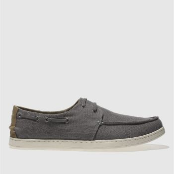 Toms Grey Culver Lace Up Mens Shoes