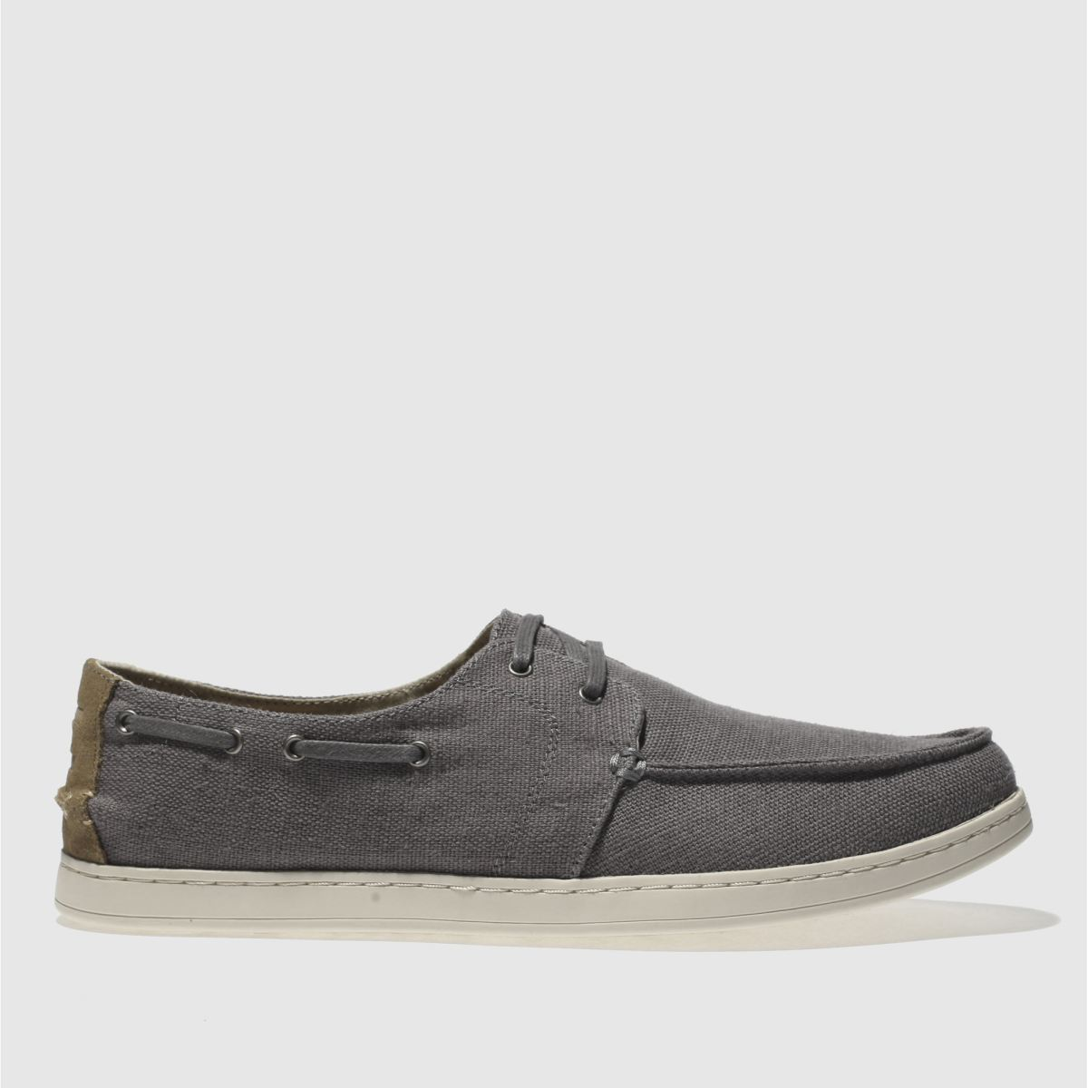 Toms Grey Culver Lace Up Shoes