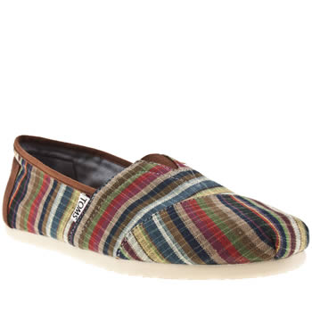 Mens Toms Multi Classic Renato Shoes